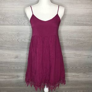 Adorable Purple Dress by Entro Size Small
